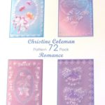 Christine Coleman Romance 72 – CCPatternPack72 – A Card Pattern Pack Download