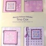 Tina Cox Snowflakes Pack 10 – TCPatternPack10 – A Card Pattern Pack Download