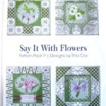 Tina Cox Pattern Pack Say it with Flowers 2 – TCPatternPack09 – A Card Pattern Pack Download