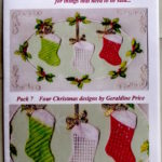 Loquenda Pattern Pack 07 Christmas – GPPatternPack07 – A Card Pattern Pack Download