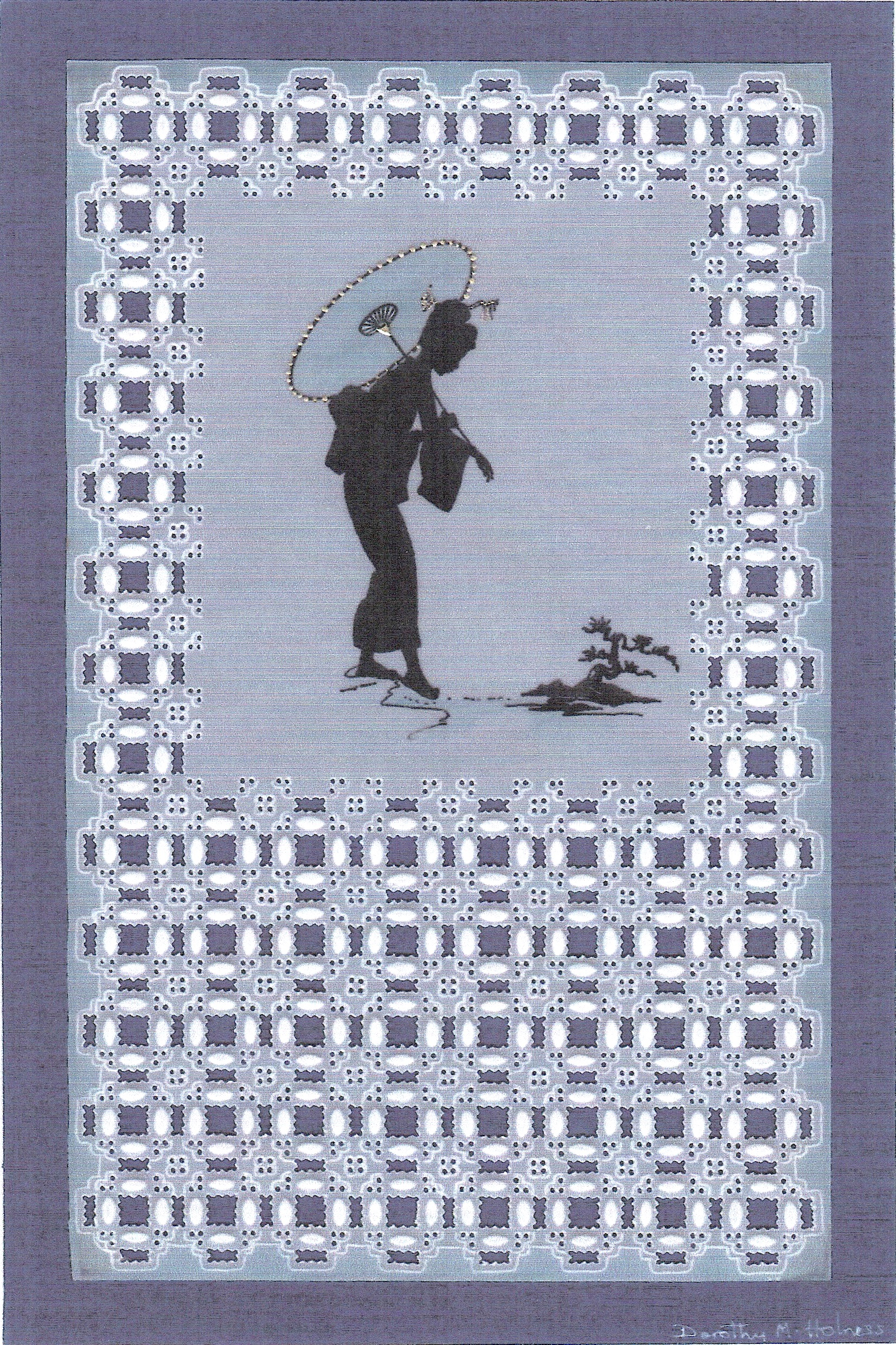 Japanese Girl – A Pattern Project – DHProject 3 by Dorothy Holness