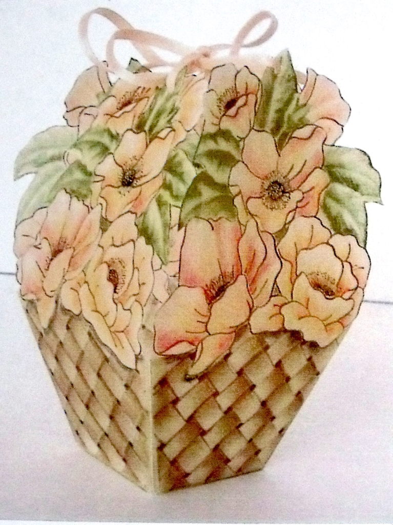 Flowers Basket Making : Flower basket a pattern project dhproject by dorothy
