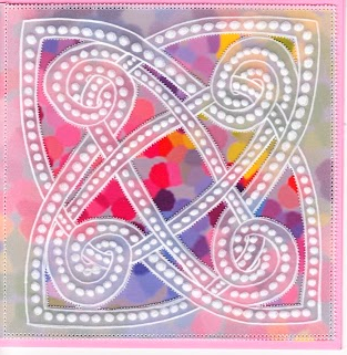 Celtic Dots – Card Pattern Download 02