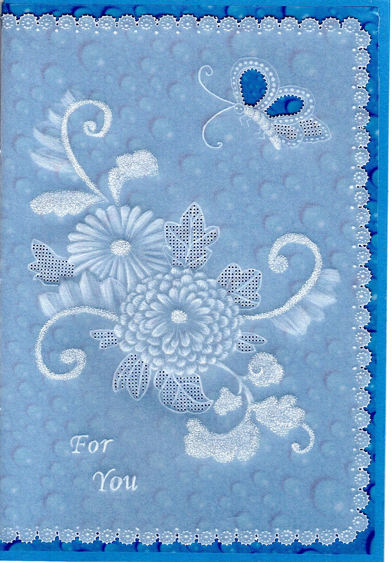 Japanese Flowers – Card Pattern Download 24