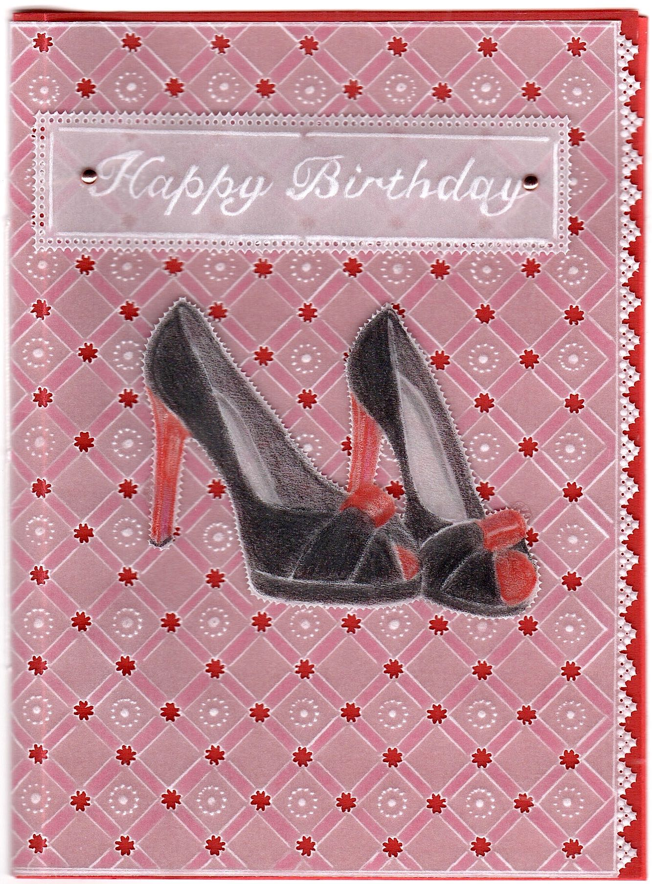 High Heels – Card Pattern Download 25