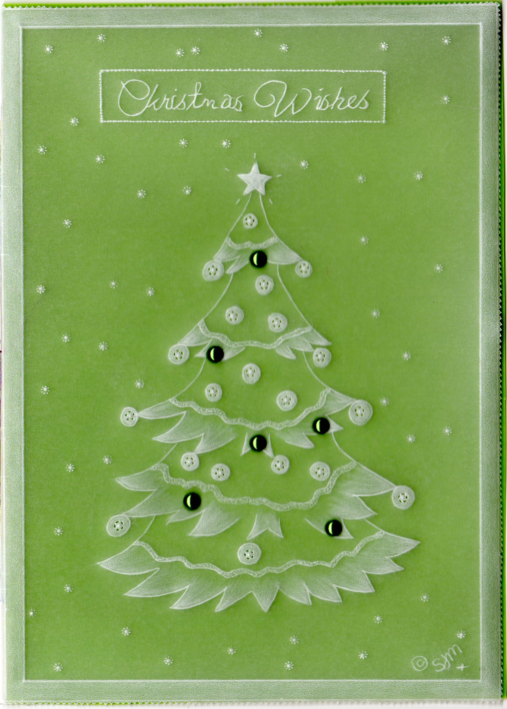 Christmas Greeting Card Making.Sharon Mills Christmas Wishes Sjmpattern01 A Card Pattern Download Cards Card Making Downloads