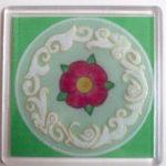 Art Nouveau Coaster 3 – MHFree3 – A Free Coaster Pattern