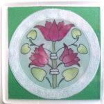 Art Nouveau Coaster 4 – MHFreeCoaster4 – A Free Pattern Download