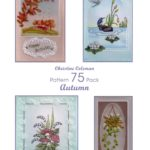 Christine Coleman Pack 75 Autumn – CCPatternPack75 – A Card Pattern Pack Download