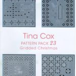 Tina Cox Pattern Pack Gridded Christmas – TCPatternPack23 – A Card Pattern Pack Download