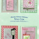 Tina Cox Pack 11 Christmas Treats – TCPatternPack11 – A Card Pattern Pack Download